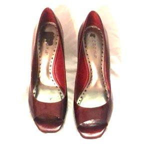 Holiday heels by BCBG